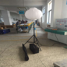 100 watt Balloon light tower LED with tripod and bags easy carry
