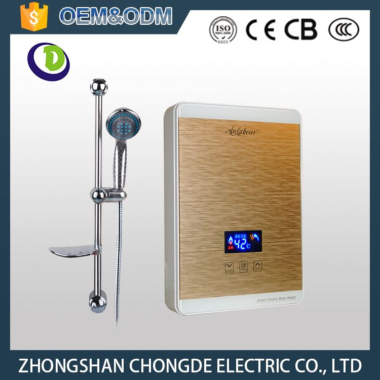 Instant Electric Water Heater with Electric Leakage Sensor Anti Dry Burning Function