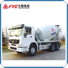 Wholesale china diagram of concrete cement mixer truck FYG5257GJBC/12