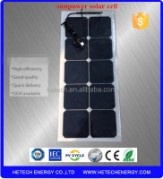 High efficiency 30w thin film solar flexible panel