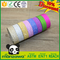 Solid Color self adhesive glitter tape