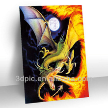 China manufacture 2014 3d picture of dragon