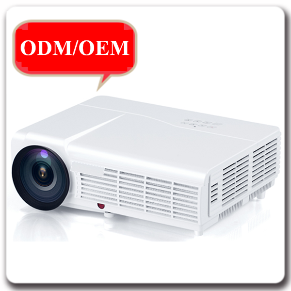 Top selling 2000Lumens video game LED 1080P HD 3D Projector with 2HDMI VGA 2*USB AV