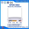 CE Certificated Optical EPON Access 4GE 2FXS USB 802.11AC 2T2R WiFi ONU