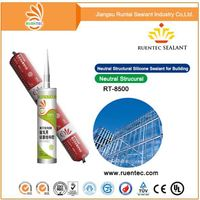 300ml high quality Acetic cured Silicone sealant for glass