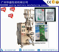 Automatic shower gel/shampoo/body lotion sides sealing sauce packing machine