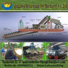 Widely Used Bucket Chain Gold Mining Dredge