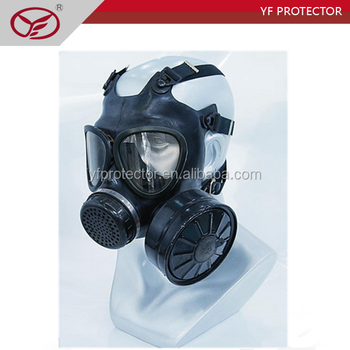 police gas mask/gas mask with drinking tube/safety gas mask