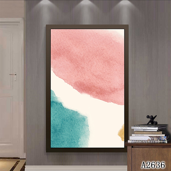 Nordic Decorative Canvas Painting Abstract Pictures Modern Minimalist Concept No Frame Oil Painting Vertical Rectangle