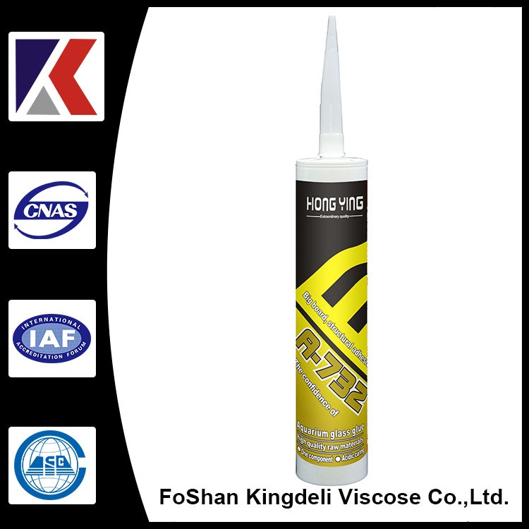 Acetoxy Waterproof Silicone Sealant for Swimming Pool