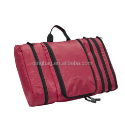 2015 New Trendy Large capacity Pack-it-Flat Toiletry Kit