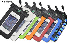 Waterproof bag for iphone 5 5g under Water proof Skin waterproof case for iphone 5 5s water resistant redpepper case