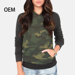 2013 Cheap Wholesale Womens Print Pullover Camo Hoodies