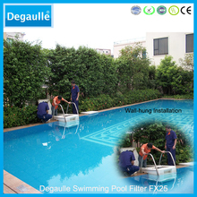 Private house pipeless swimming pool builders with filter supplies