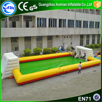 funny games indoor street soccer inflatable field inflatable soap football field