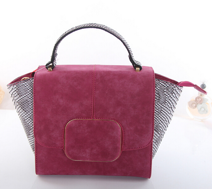 Wholesale high quality Fashion Snakeskin Pattern Women Hanbag Shoulder Bag(LD-2394)
