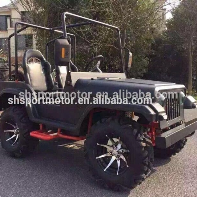 jeep挅ce�^h�^K�p_factory directly sale 150cc adult jeep atv wih ce