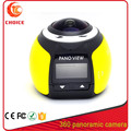 2016 professional mini panorama action camera cam 360