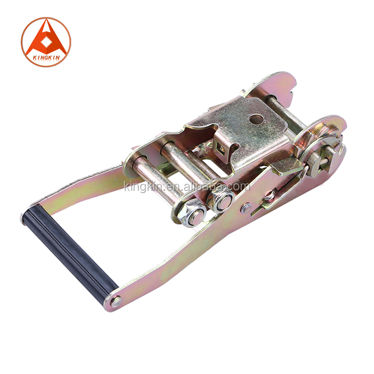 "2"" inch 50mm 5 Tons Galvanized Ratchet Buckle with Plastic Handle"