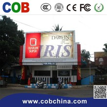 Outdoor led advertising display solar traffic trailer vms trailer message sign gprs control P10 mobile truck led display