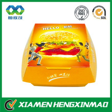 High quality Recycled paper burger box, fried chicken box