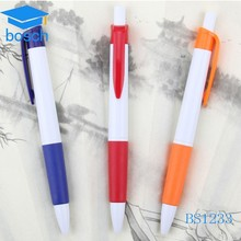 Stationery items cheap ballpoint pen promotional plastic ball pen