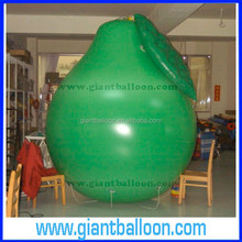 Giant Inflatable balloon pear/fake pears / Plstic pear