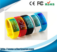 Show time 3D design silicone usb flash drive smart bracelet USB 2.0