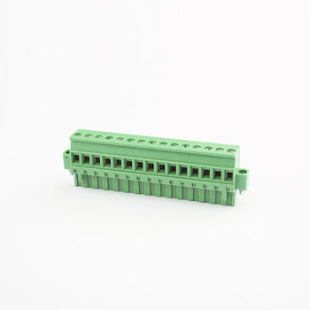 Green colors of  YX brass fire resistant test terminal block