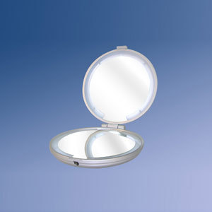 "5"" CCFL Lighted Compact Mirror"