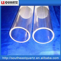 Factory price for High temperature quartz glass tube