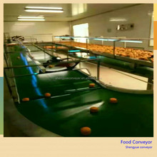 food grade belt conveyor to equip with automatic packaging machine
