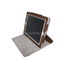 hot selling Universal folding smart cover leather case for ipad4