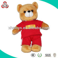 cute handmade stuffed plush toy bear