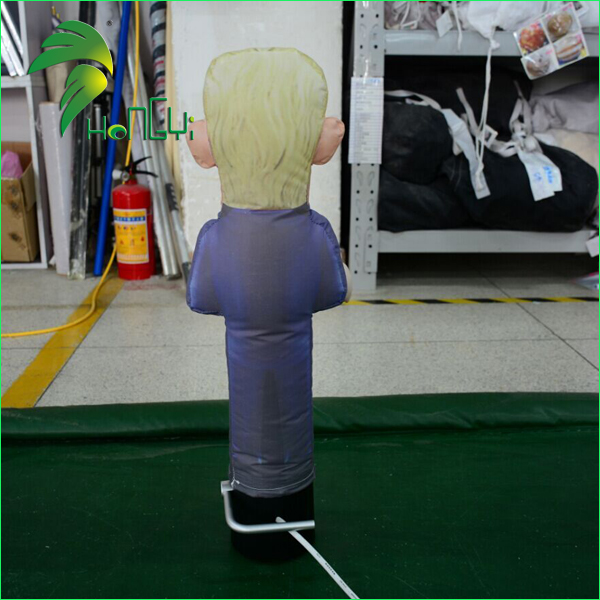 Mini Small Desktop Air Dancer , Customized Trump Inflatable Dancer Man For Sale