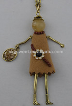 Camel Pendants Small Gold Alloy Costumes Accessories Jewelery Necklace(SWTN1028)