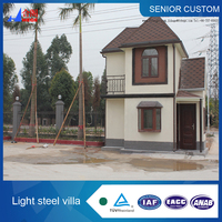 prefabricated houses and villas in alibaba
