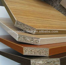 4'x8' E1 glue raw or melamine chipboard for decoration with high quality
