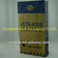 2013 brown cement kraft paper bag with high quality
