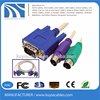hot selling VGA SVGA to RCA S-Video AV OUT Card HD 15 Pin Converter Adapter Cable for TV PC