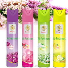 Car and home use air freshener spray with good smell