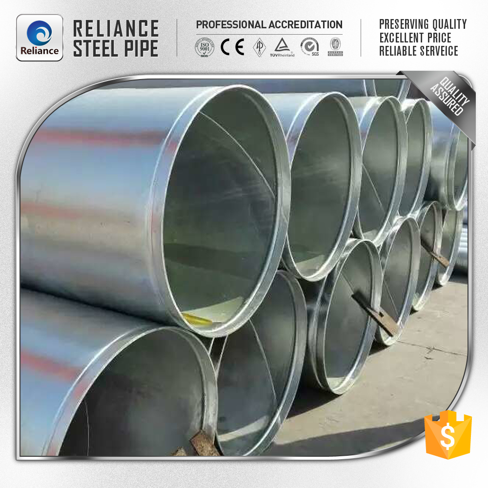 Large diameter pe ssaw steel pipe buy