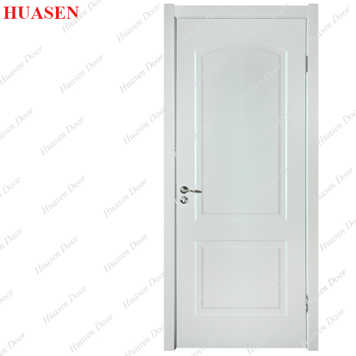 White Paint Inter Wood Modern Bedroom Doors