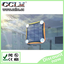 New Design 2015 portable window solar power bank charger waterproof 5600mah