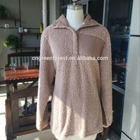 Wholesale Monogrammed Fleece Sherpa Pullover