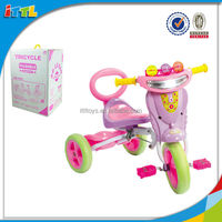 With Music And Light Baby Tricycle Learning Walking Toy For Baby Plastic Baby Tricycle