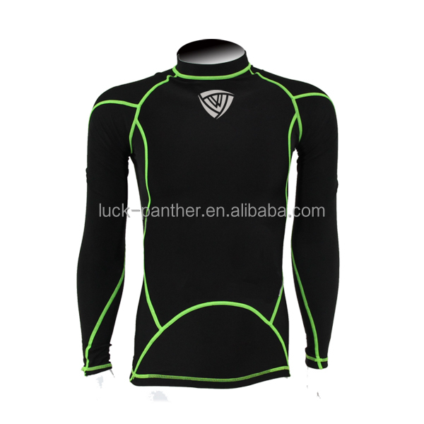 Skin Compression Wear Rash Guards Mma Custom Rash Guards