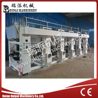AY 80mm Model Plastic Film Gravure Printing Machine