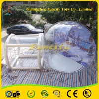 competitive price inflatable Camping bubble tent with client's logo