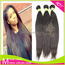 Hot sale 7A grade virgin human hair extension Cambodian straight virgin weaving hair